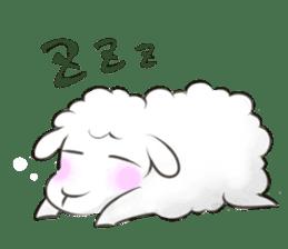Nap sheep sticker #1082506
