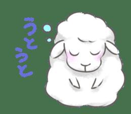 Nap sheep sticker #1082507