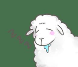 Nap sheep sticker #1082510