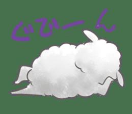 Nap sheep sticker #1082513