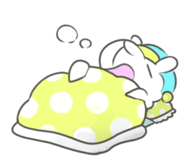 Nap sheep sticker #1082514