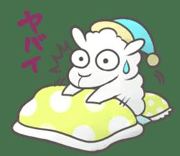 Nap sheep sticker #1082515