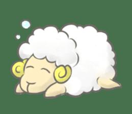 Nap sheep sticker #1082531