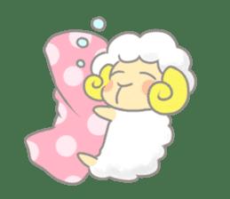 Nap sheep sticker #1082537