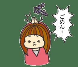 Nature of woman sticker #1082602