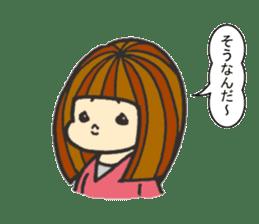 Nature of woman sticker #1082616