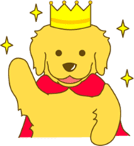 Golden retriever sticker #1082724