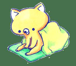 Futon Cat sticker #1083111