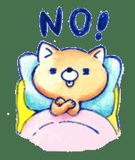 Futon Cat sticker #1083113