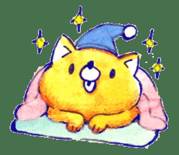 Futon Cat sticker #1083127