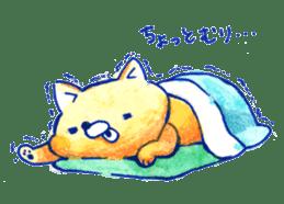 Futon Cat sticker #1083128