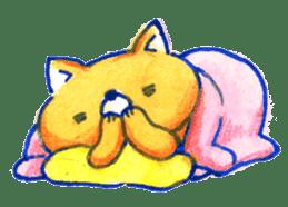 Futon Cat sticker #1083129