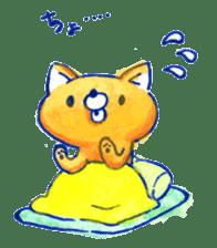 Futon Cat sticker #1083134