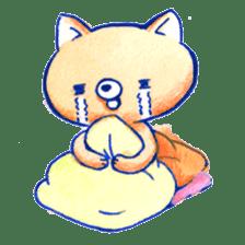 Futon Cat sticker #1083145