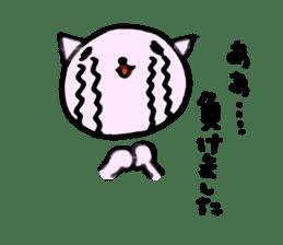 TARE-NEKO Family (Baseball fans) sticker #1083488