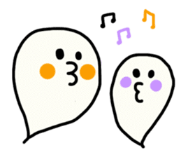 Ghost-chan Yuruyuru. sticker #1083669