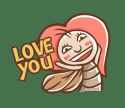 Peter The Cockroach sticker #1083987