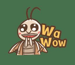 Peter The Cockroach sticker #1083994
