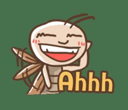 Peter The Cockroach sticker #1083997