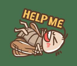 Peter The Cockroach sticker #1083999