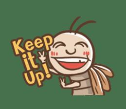 Peter The Cockroach sticker #1084003