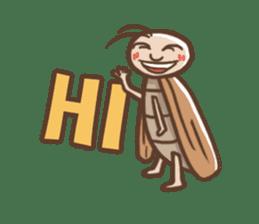 Peter The Cockroach sticker #1084006