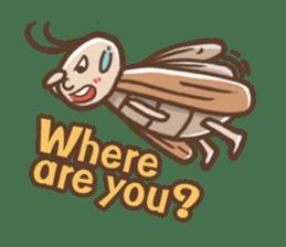 Peter The Cockroach sticker #1084007