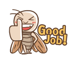 Peter The Cockroach sticker #1084017