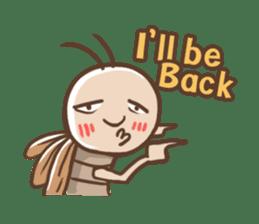 Peter The Cockroach sticker #1084020