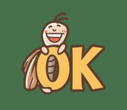 Peter The Cockroach sticker #1084025