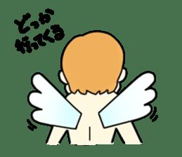 Angel sticker #1084039