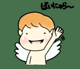 Angel sticker #1084053