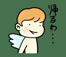 Angel sticker #1084055