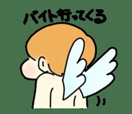 Angel sticker #1084059
