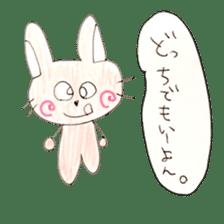 CUTIE RABBIT sticker #1085263