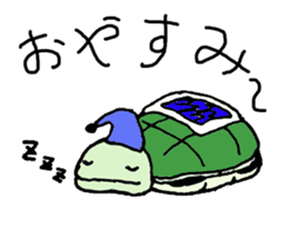 The Hare and the Turtle sticker #1085282