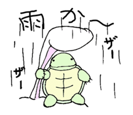 The Hare and the Turtle sticker #1085283
