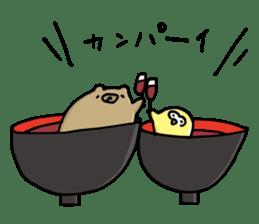 SHIRU KUMA-CAFE sticker #1085989