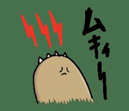 SHIRU KUMA-CAFE sticker #1085994