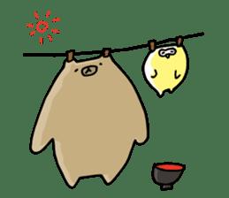SHIRU KUMA-CAFE sticker #1085995