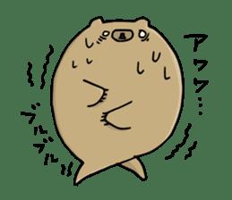 SHIRU KUMA-CAFE sticker #1085996
