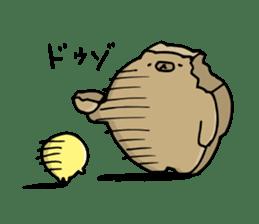 SHIRU KUMA-CAFE sticker #1086008