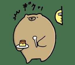 SHIRU KUMA-CAFE sticker #1086011