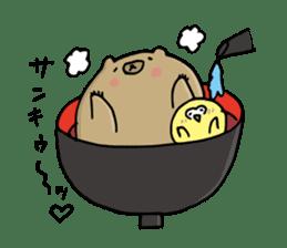 SHIRU KUMA-CAFE sticker #1086018