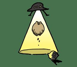 SHIRU KUMA-CAFE sticker #1086020