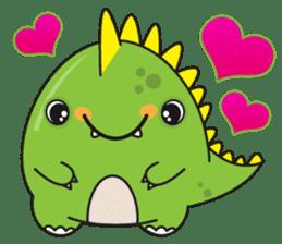 Cutest dinosaur pack sticker #1087186