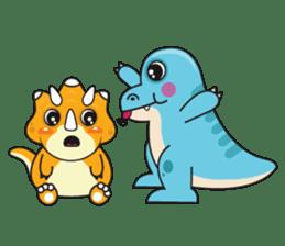 Cutest dinosaur pack sticker #1087189