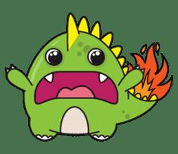 Cutest dinosaur pack sticker #1087192