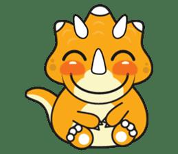 Cutest dinosaur pack sticker #1087193