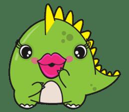 Cutest dinosaur pack sticker #1087197